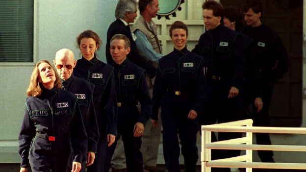 Participantes de Biosfera 2.