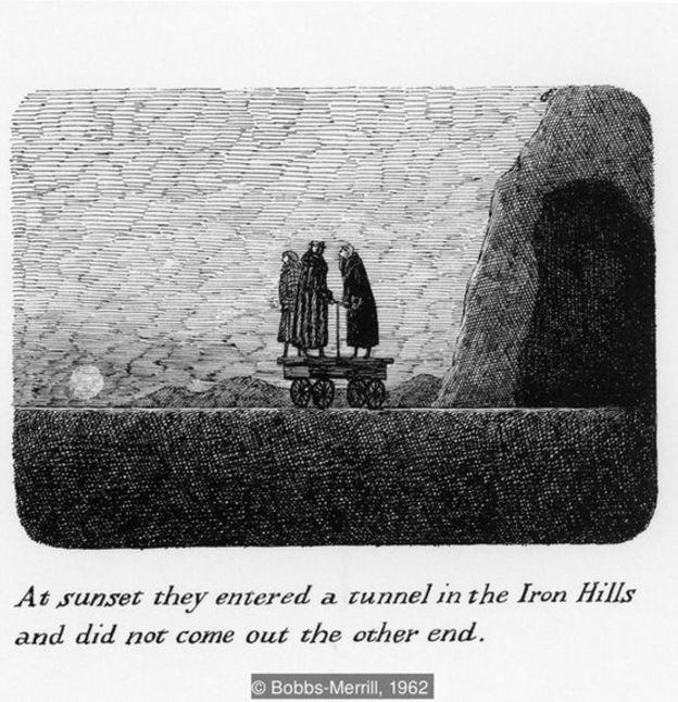 """《纽约客》(New Yorker)杂志的作者施奇(Stephen Schi)表示,《华丽的鼻血》(The Willowdale Handcar)弥漫着""""一种近乎形而上学的神秘气息""""。"""