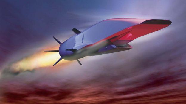 Ilustración de un X15A