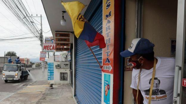 Ecuador se encuentra en emergencia sanitaria desde el 12 de marzo.