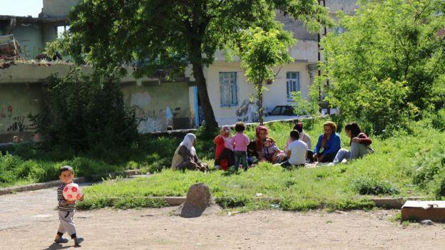 Piknik yapanlar