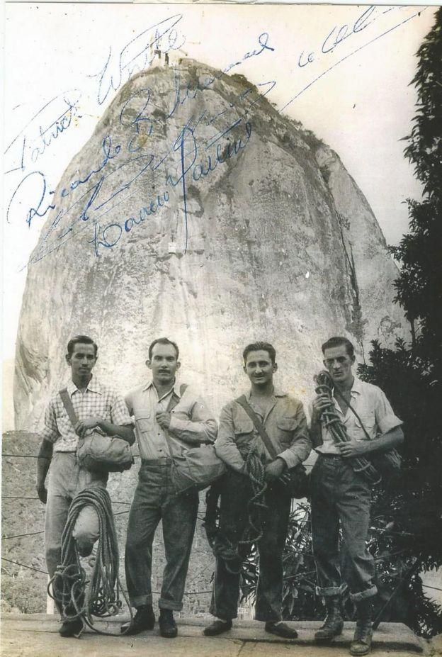 Patrick White, Laércio Martins, Antônio Marcos de Oliveira e Tadeusz Hollup (da esquerda para direita)