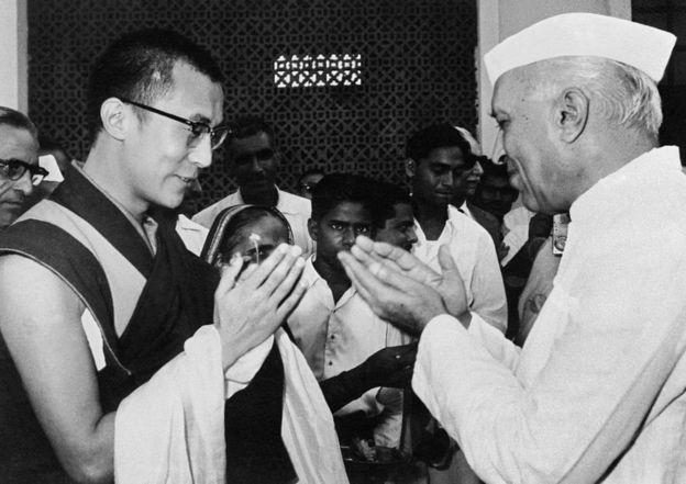 दलाई लामा र नेहरू