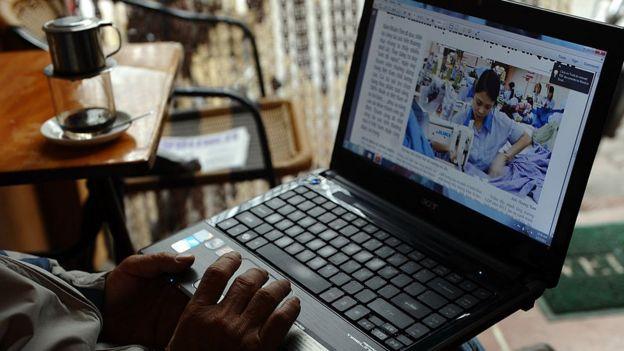 Việt Nam muốn thặt chặt quản lý thông tin trên mạng Internet.