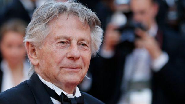 Roman Polanski en el Festival de Cine de Cannes, 27 de mayo de 2017