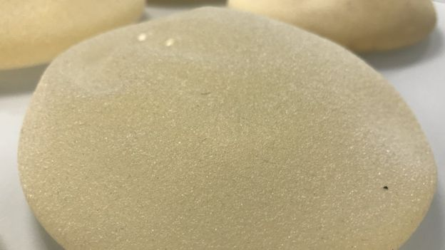 Textured breast implants