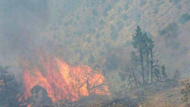 آتشسوزی ارسباران