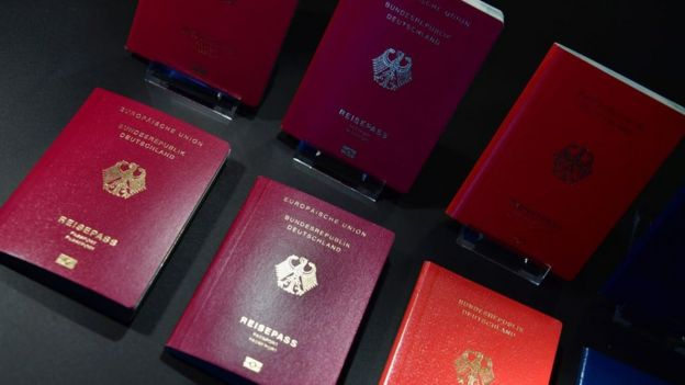Pasaportes alemanes