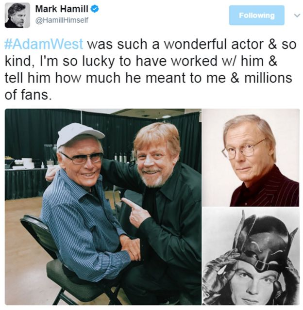 Mark Hamill tweet