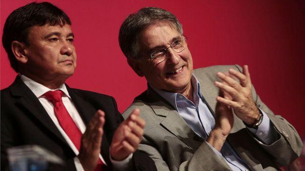 Wellington Dias e Fernando Pimentel