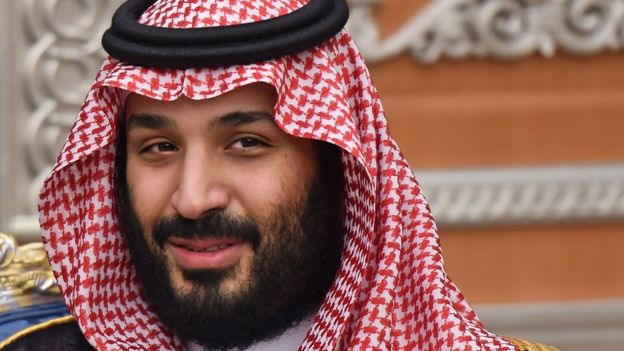 Príncipe heredero de Arabia Saudita, Mohammed bin Salman