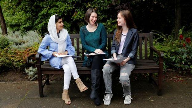 Malala A-level results