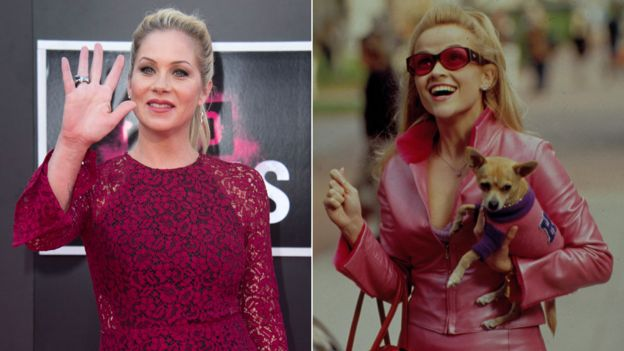 Christina Applegate and Reese Witherspoon in Legally Blonde