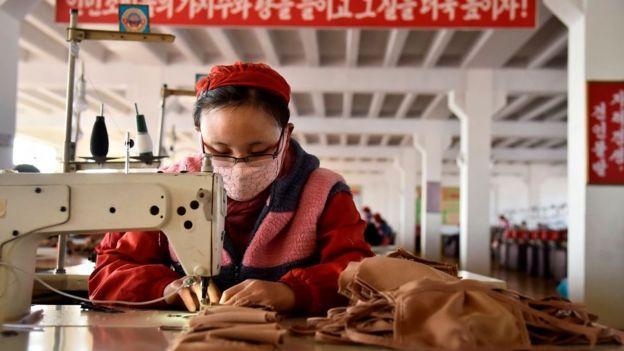 швейный цех в КНДР