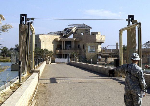 القصر الذي سجن فيه صدام