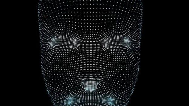 رسم للدماغ بالنقاط المضيئة