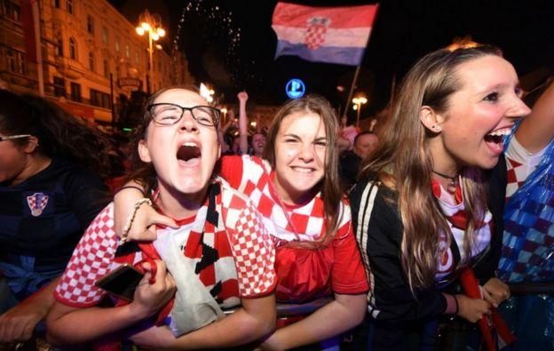 克羅地亞擊敗英格蘭,他們將在決賽與法國爭冠。