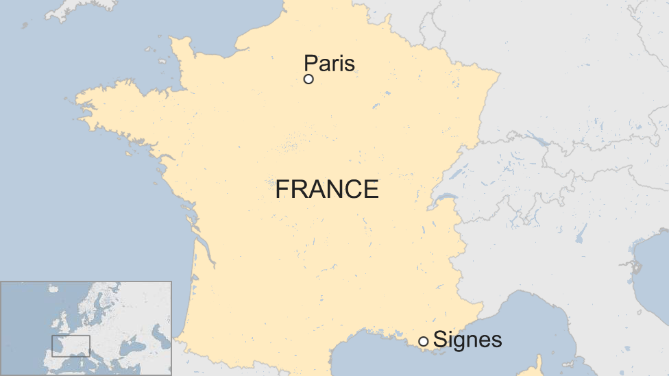 Map Of The South Of France.Jean Mathieu Michel French Mayor Run Over After Row Over Illegal