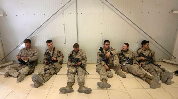 آقای ترامپ گفته که نیروهای آمریکایی طولانی ترین حضور را در افغانستان داشته اند