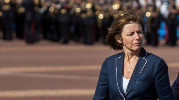 La Ministre française des Armées, Florence Parly