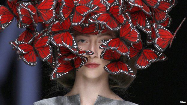 From Alexander McQueen: Savage Beauty exhibition