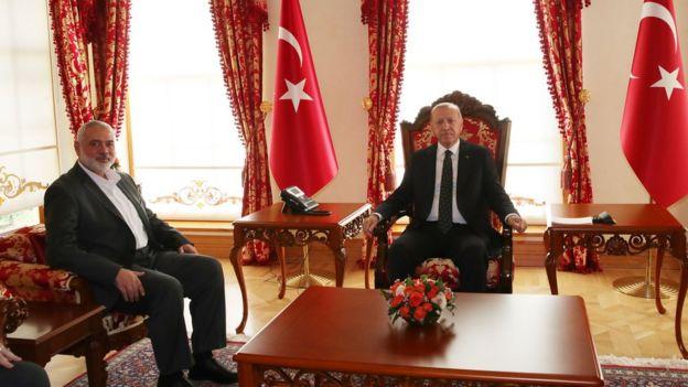 Erdoğan ve Haniya