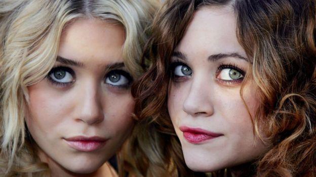 Las mellizas Olsen, conocidas actrices y celebridades