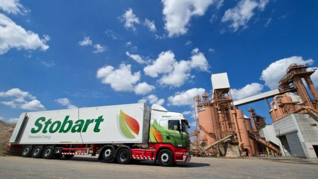 Stobart lorry