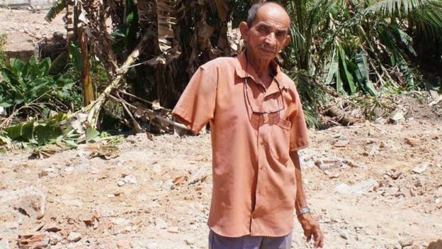 Jerônimo Sebastião de Oliveira, de 72 anos, morador do Pernambuco que morreu pouco após a Copa de 2014