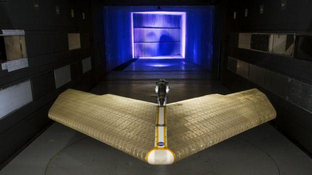 Creación ala avión NASA.