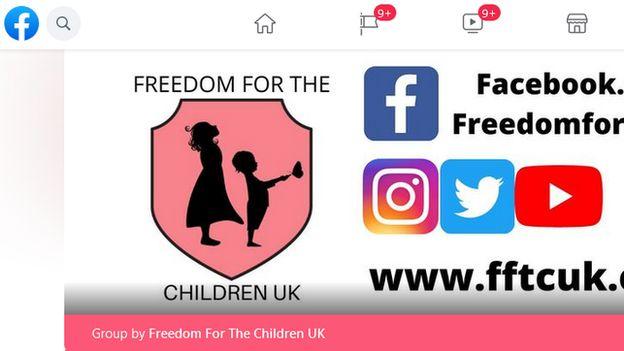 Freedom for Children UK Facebook group