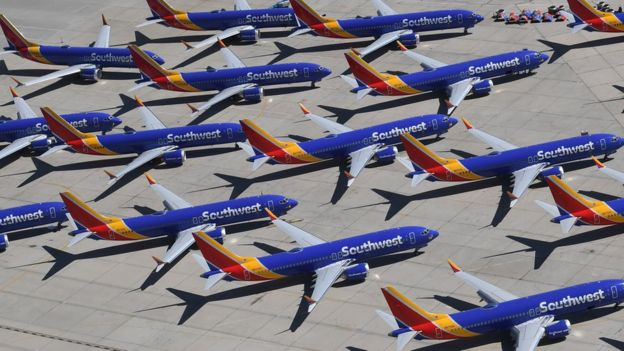 Southwest Airlines is the biggest operator of Boeing's 737 Max