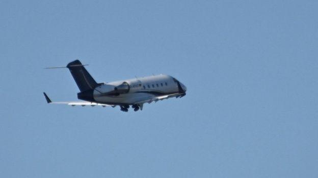 Самолет, вылетивший с Навальным из аэропорта Омска утром 22 августа