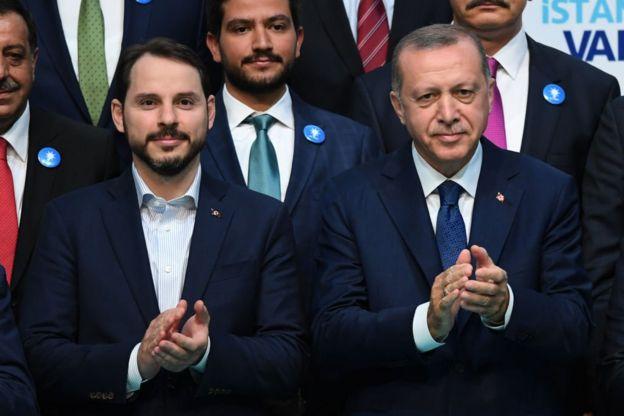 اردوغان وبرات