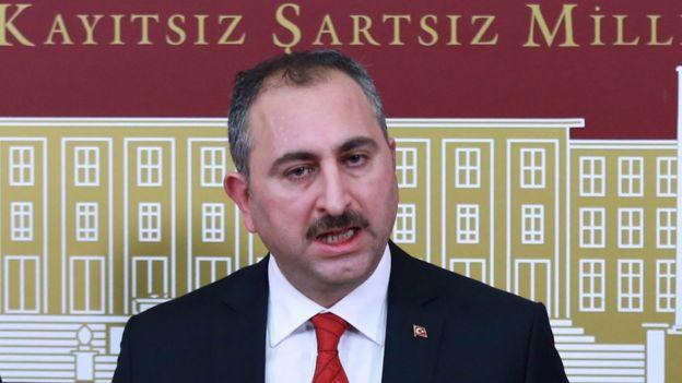 HRW Adalet Bakanı Abdulhamit Gül'e mektup gönderdi