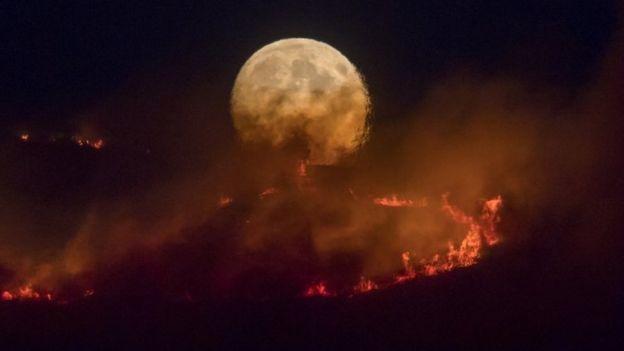 Saddleworth fire