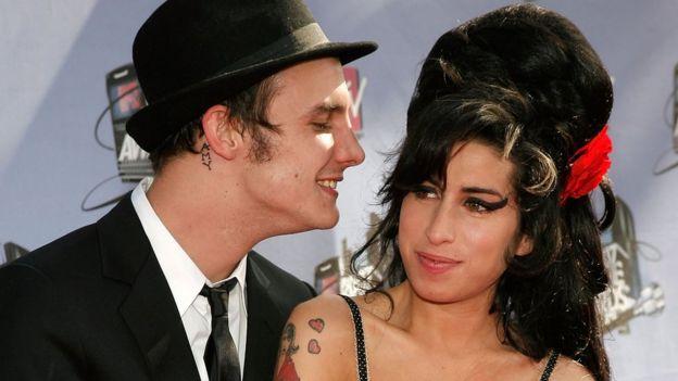 Amy Winehouse y Blake Fielder-Civil.
