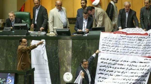 طومار مخالفان لایحه الحاق دولت ایران به کنوانسیون بینالمللی مقابله با تامین مالی تروریسم
