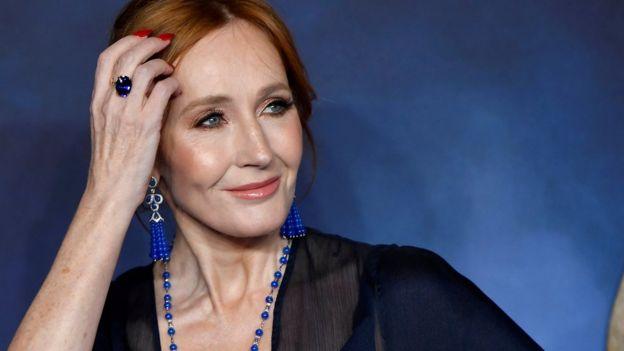 JK Rowling en Nueva York.