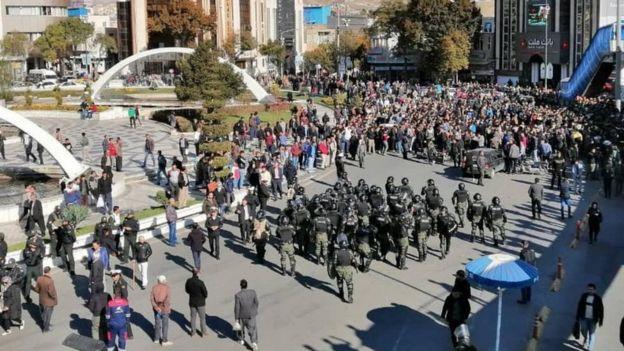 تظاهرات سنندج