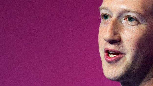 Mark Zuckerberg, director ejecutivo de Facebook