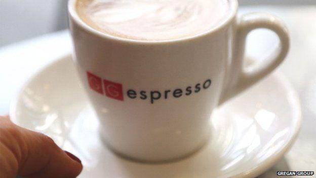 A GG Espresso coffee