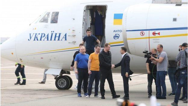 7 вересня в Україну повернулися 35 українців, затриманих або ув'язнених у Росії