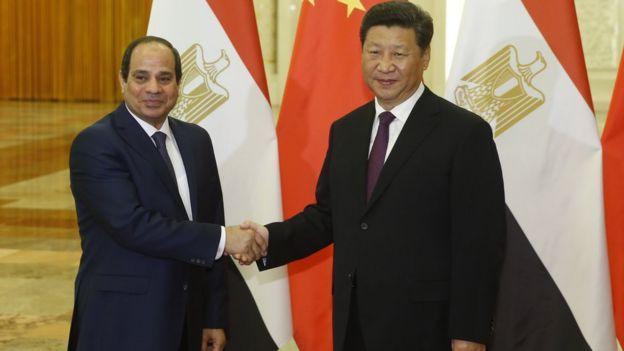 塞西去年訪華獲習近平接見,埃及在塞西的領導下仍然與中國保持緊密的雙邊關係,包括投資。