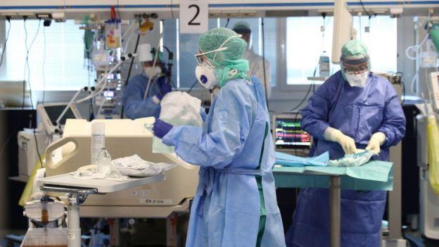 Больница в Италии