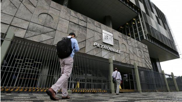 Fachada da sede da Petrobras