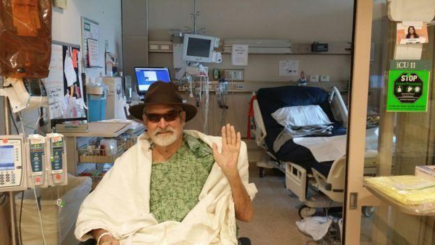 Tom Patterson hastanede tedavi görürken