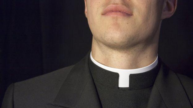 Naked priest