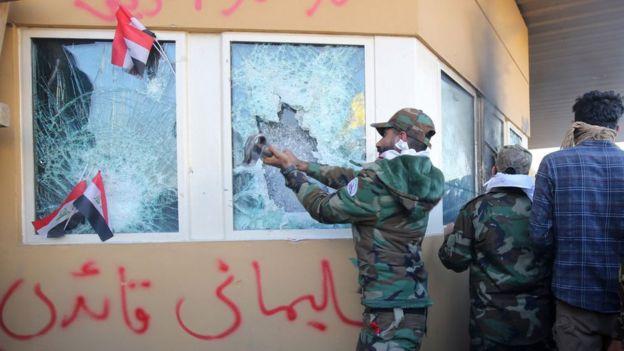 இரானில் உள்ள அமெரிக்க தூதரகம் மீது நடத்தப்பட்ட தாக்குதல்