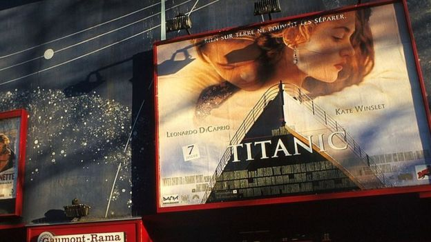 Poster de la película Titanic